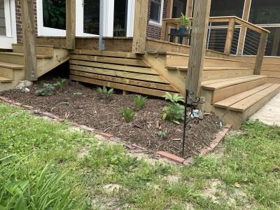 Deck planting